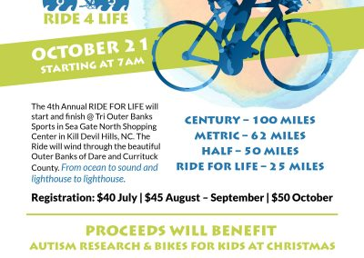 Fundraising Cycler Event