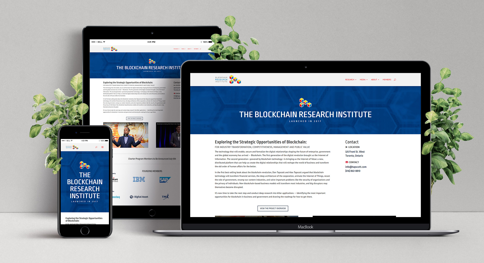Research Institute Website