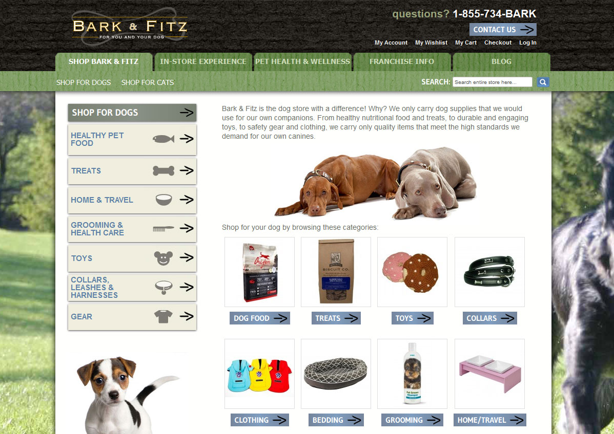 Bark and Fitz: A premier retailer for pet goods and supplies