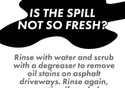 Dirty Driveway Infographic