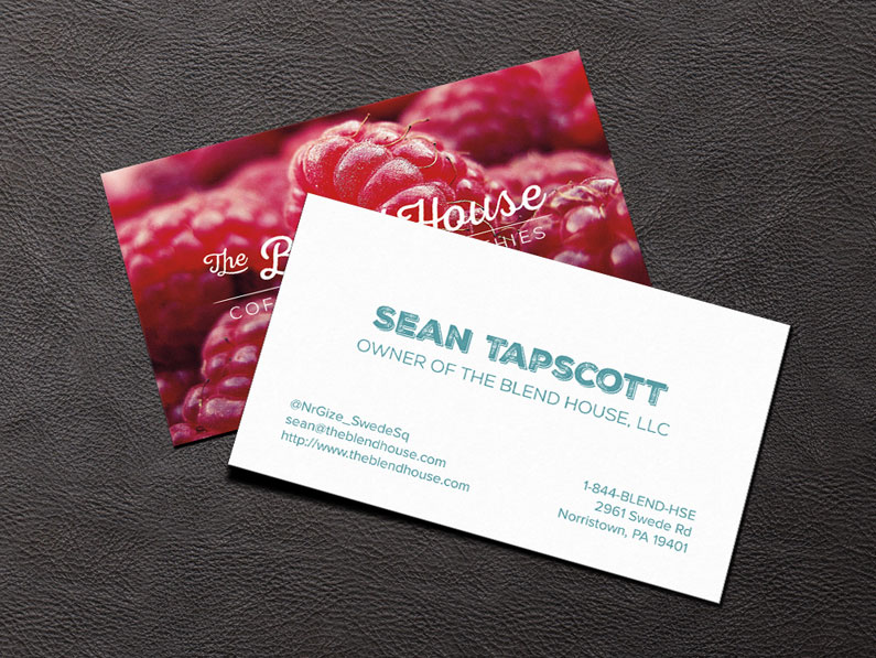 The Blend House Business Cards