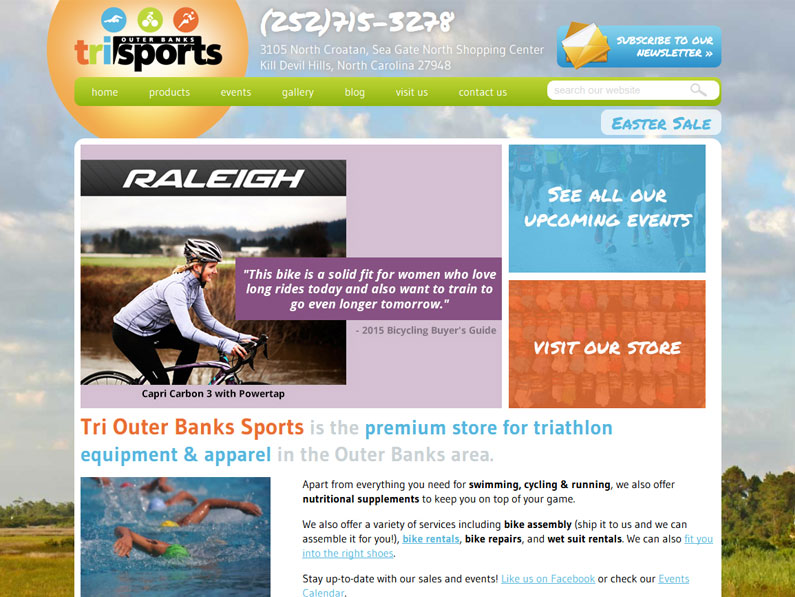 Sports Store Website