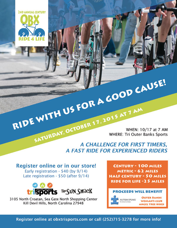 Cycle Event Flyer